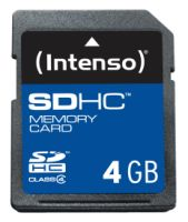 Intenso SD Card 4GB Class 4