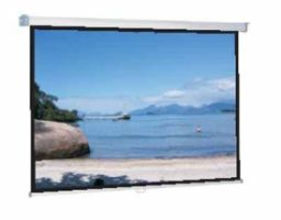 Spalluto WS-P Classic-Screen-Rollo 16:9 168x95cm BE/BL 1,0 Gain