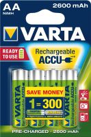 Varta 5716 Professional Accu ready2use Mignon 4er Blister