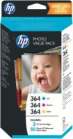 Hewlett Packard 364 HP Photo Value Pack + 50 Blatt T9D88EE