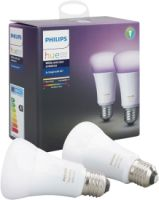 Philips Hue White and Color Ambiance LED E27 Doppelpack RGBW 10W