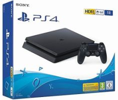 Sony PlayStation 4 -1TB black Slim PS4 Konsole Slim D-Chassis