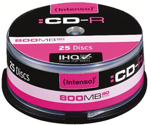 Intenso CD-R 800MB 25er Spindel_0