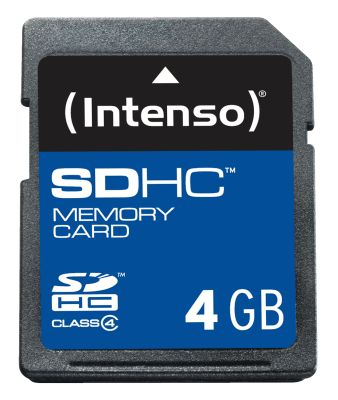 Intenso SD Card 4GB Class 4_0