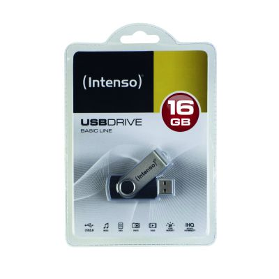 Intenso Basic Line 16GB USB Drive 2.0_0