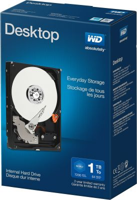 Western Digital Desktop Everyday 1TB Retail Kit_0