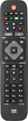 One For All URC 1913 Philips TV Remote_0