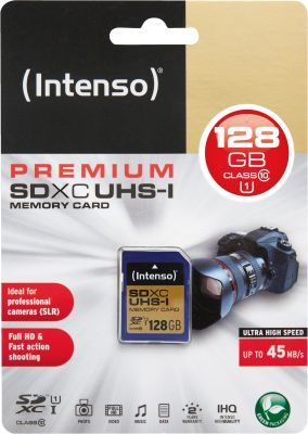 Intenso SD Card 128GB UHS-I SDXC_0